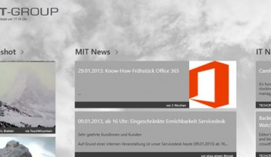 MIT-GROUP für Windows 8